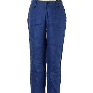 || J CREW || Size 2 Blue Linen Garden Pants